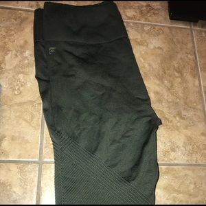 Fable tics olive green workout pants